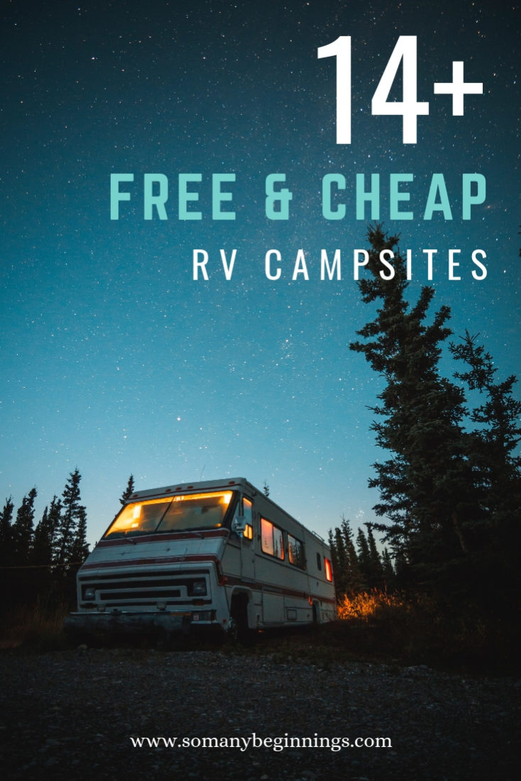 rv campsites pinterest