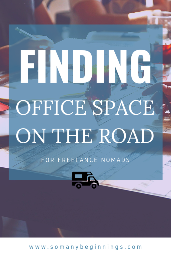 finding office space on the road digital nomads